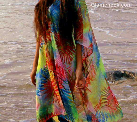 Kaftan at the Beach