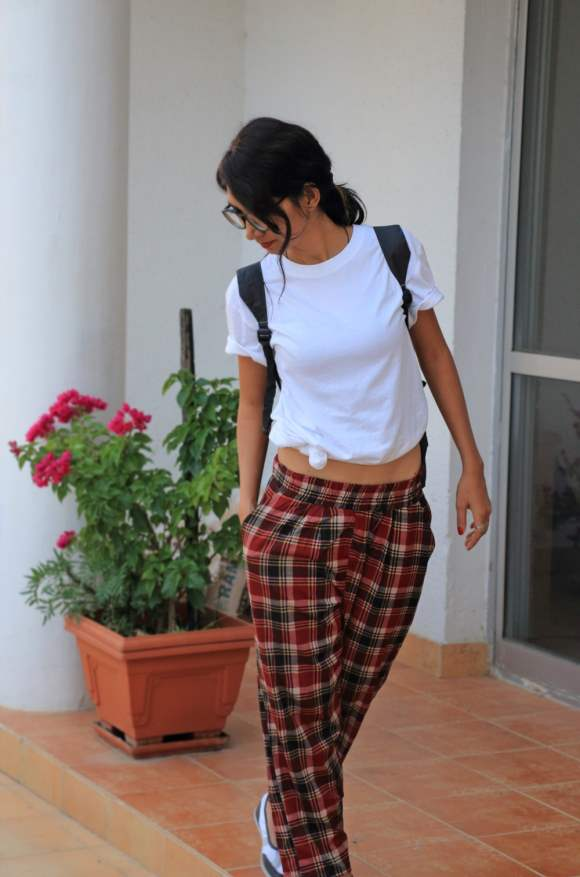Sporty in Plaid