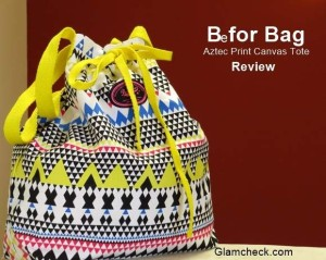 Canvas Bag Aztec print from 'Be for Bag' – Review