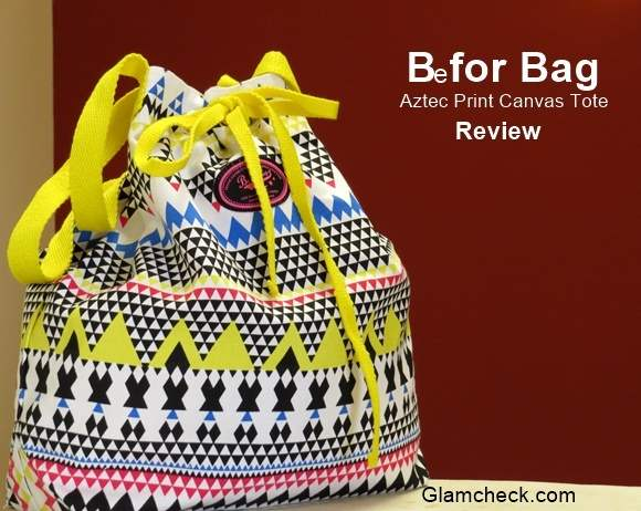 Canvas Bag with Aztec print from Be for Bag – Review