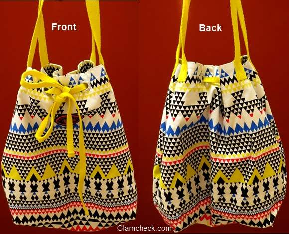 Canvas Bag with Aztec print from Be for Bag –