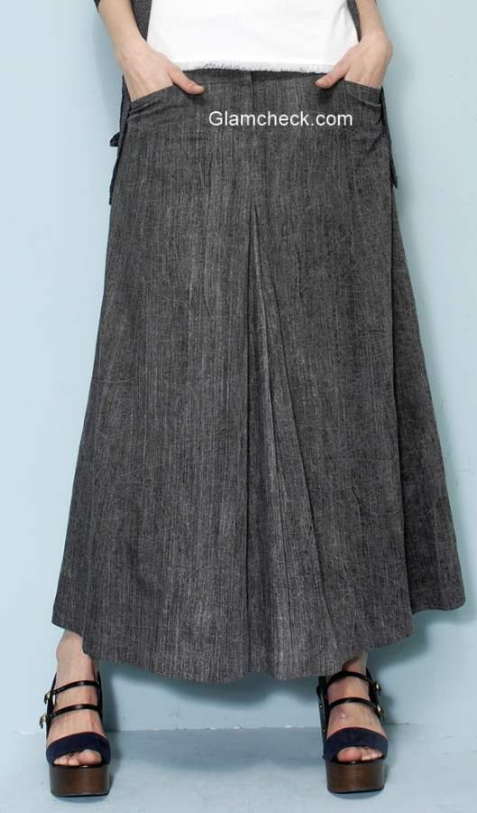 Maxi Skirt  Fall Fashion
