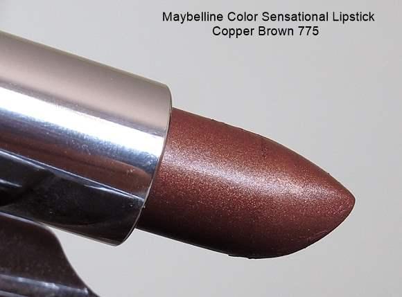 Maybelline Color Sensational Lipstick Copper Brown 775 buy