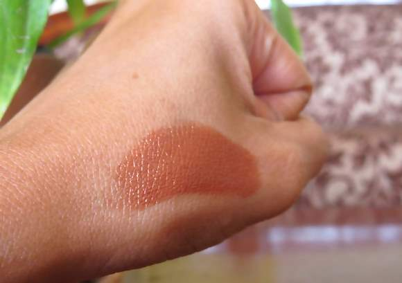 Maybelline Color Sensational Lipstick Copper Brown 775 swatch