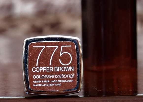 Maybelline Color Sensational Lipstick Copper Brown 775