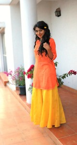 Krishna Janmashtami Outfit – Yellow and Orange