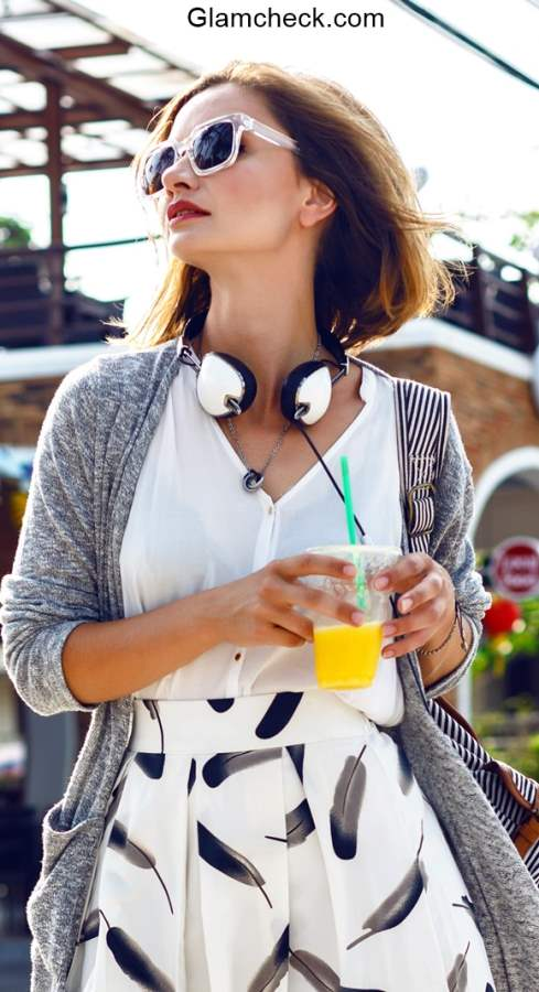 Cardigan Styling - Early Fall Look