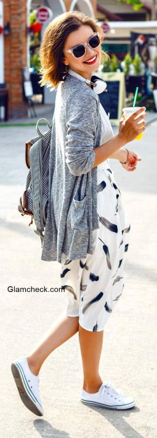 Cardigan Styling Tips - Early Fall Look