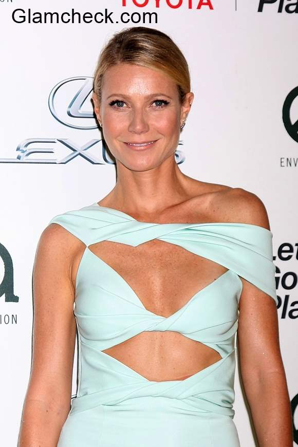 Cut out dress Gwyneth Paltrow 2015