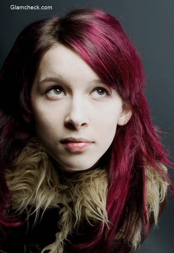 Emo Pink Hair Color