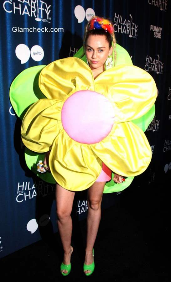 Flower Costume - Miley Cyrus