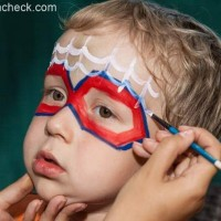 Halloween Makeup for Kids - Spiderman