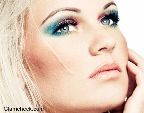 Ombre Eye-shadow Blue and Pink