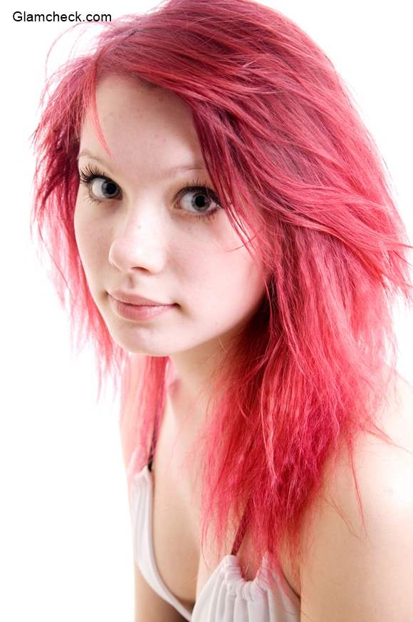 chagne pink colored hair trendy pastel hair colors for
