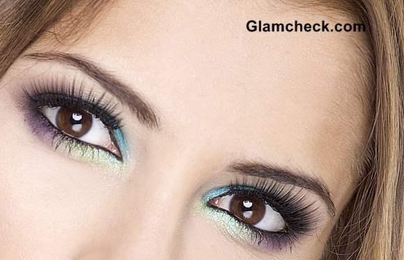 Shimmer Eye Makeup
