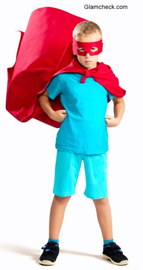 Superman Halloween costume for Kids