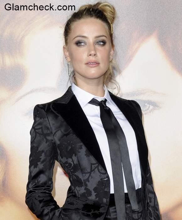 Androgynou Look Amber Heard