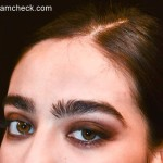 Bold Eyebrows - Makeup Trend Nicole Miller Fall 2015
