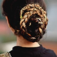 Bun Hairstyle for Indian Weddings and Festivals