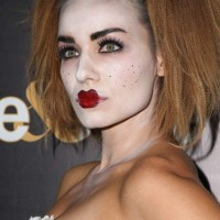 Celeb Halloween look Rebecca Marshall