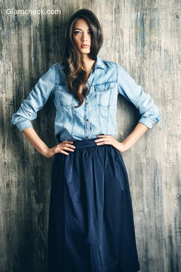 Denim Shirt for Street Chic Look