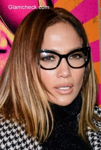Geeky Glasses – Jennifer Lopez them to 'Rock the Kasbah' premiere
