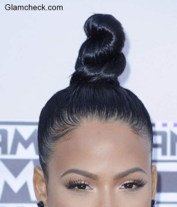 Top Knot Hairstyles from the AMA – Kendall Jenner and Christina Milian