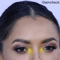 Yellow Eye Makeup