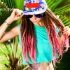Hairstyle Inspiration - Ombre Pink Dreadlocks