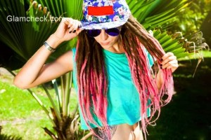 Hairstyle Inspiration – Ombre Pink Dreadlocks