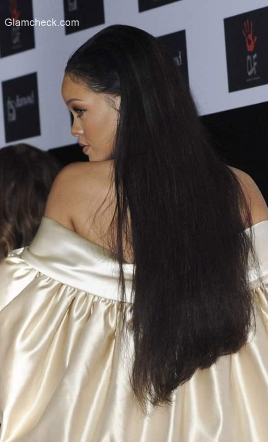 Long Hair - Rihanna latest hairstyle