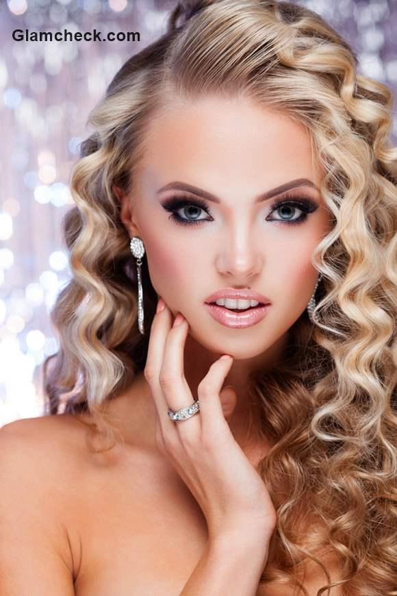 New Years Eve Party Makeup and Hair ideas