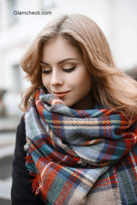 Plaid Winter Scarf  – Styling Tips