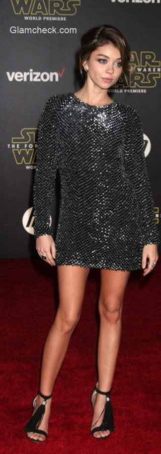 Sequin Dress Sarah Hyland