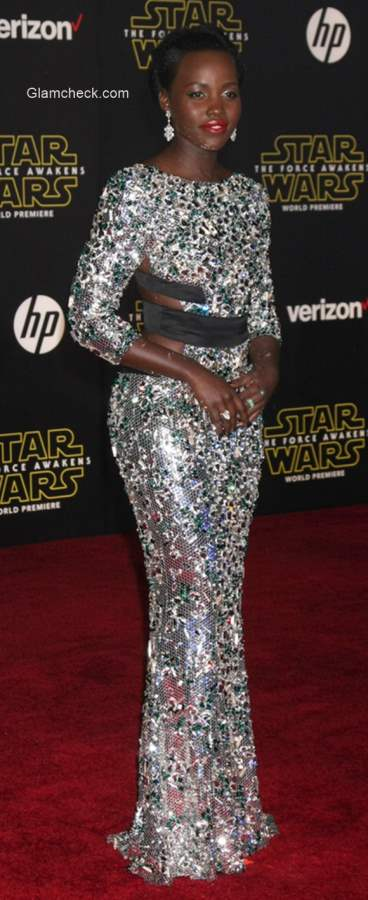 Sequin Gown Lupita Nyong'o