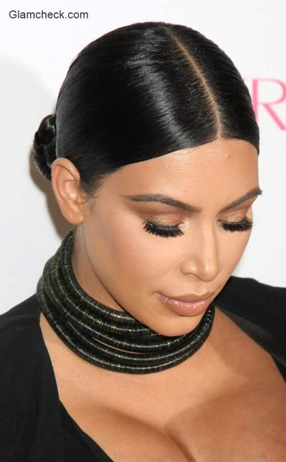 Sleek and sophisticated Hairstyle Kim Kardashian