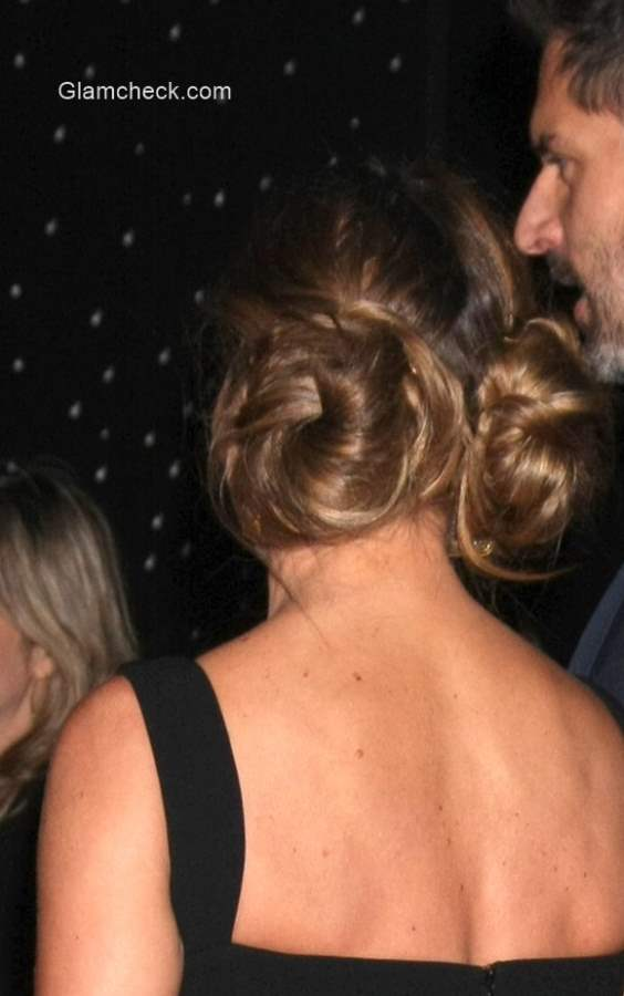 Sofia Vergaras Princess Leia Inspired Hairstyle