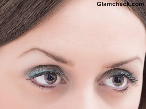 Soft Blue Smokey Eye Makeup diy