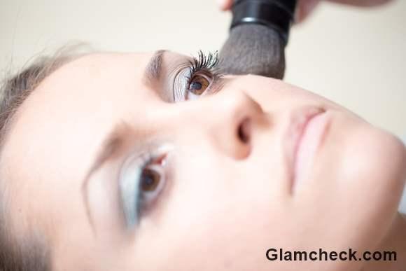 Soft Blue Smokey Eye Makeup