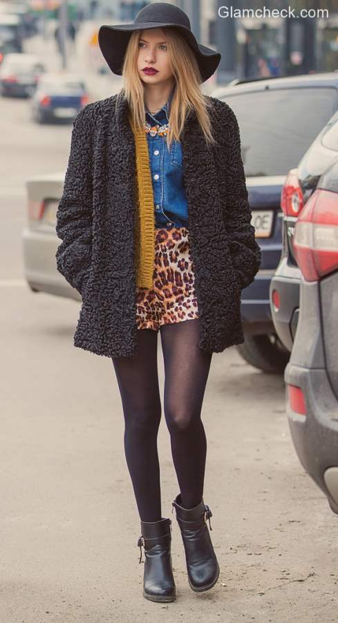 Fall-Winter Style inspiration Mix-matched and Layering