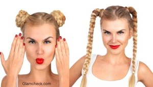 Hairstyle Poll – Princess Leia inspired v/s Back-to-School inspired Braids