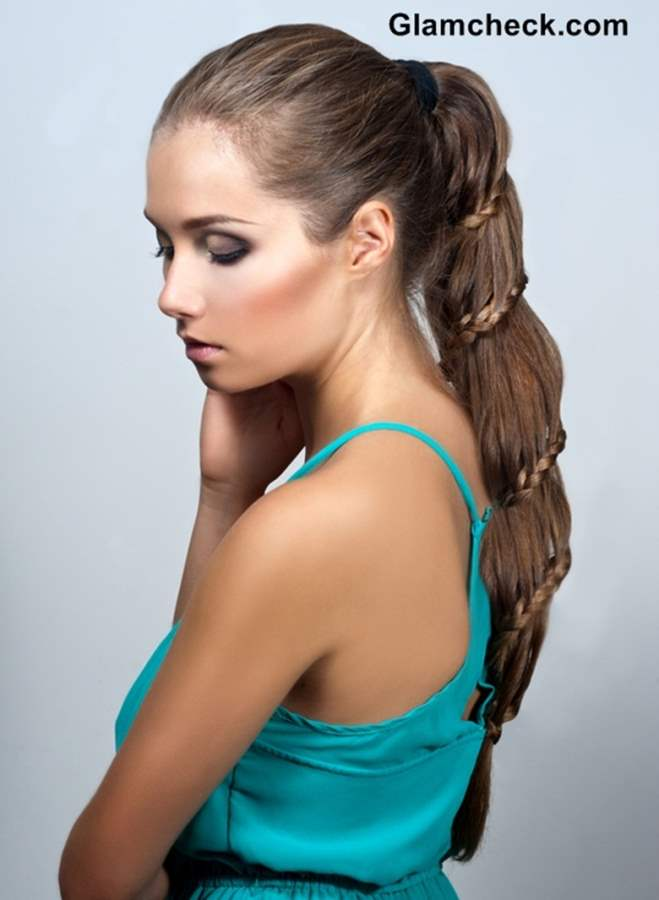 Braid Hairstyle How To Intertwined Braid