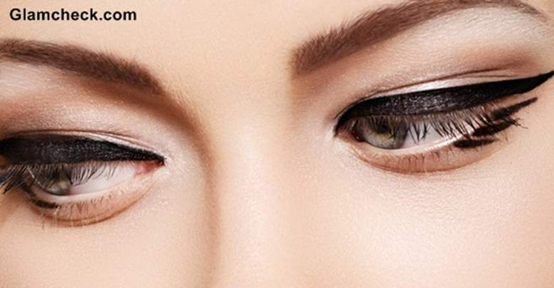 Dramatic Winged Eyeliner makeup how to tutorial