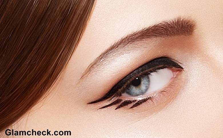 Dramatic Winged Eyeliner makeup tutorial