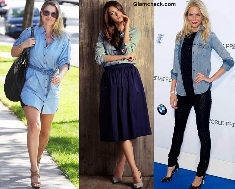 How to wear Denim Shirt - 4 Stylish Ways