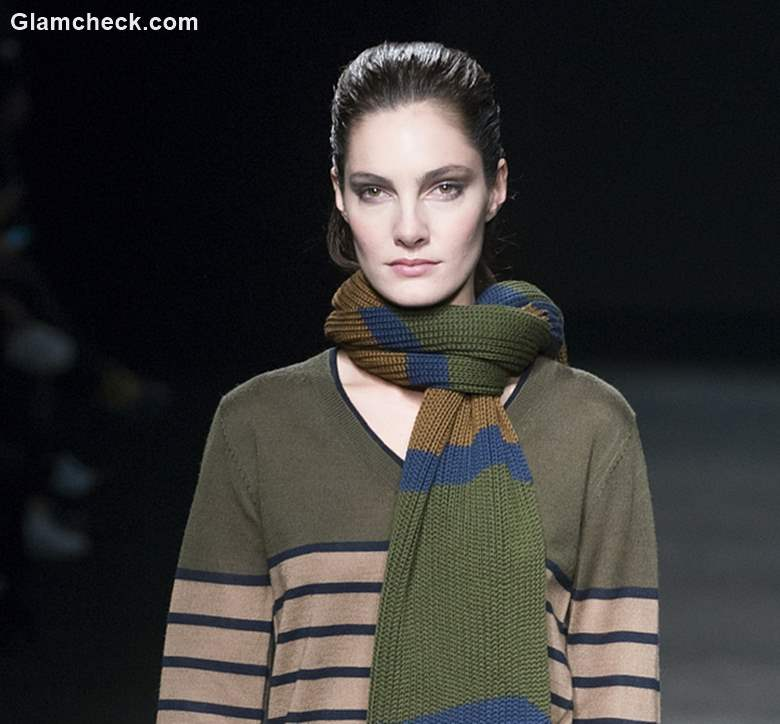 Oversized Knitted Stoles Winters