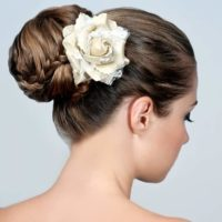 braid hairstyle bun how to