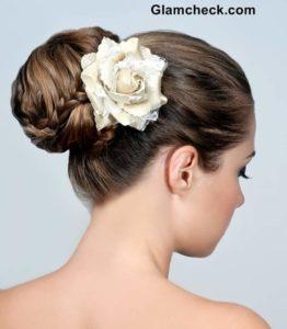 braid hairstyle bun how to
