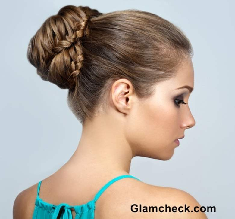 braid hairstyle bun