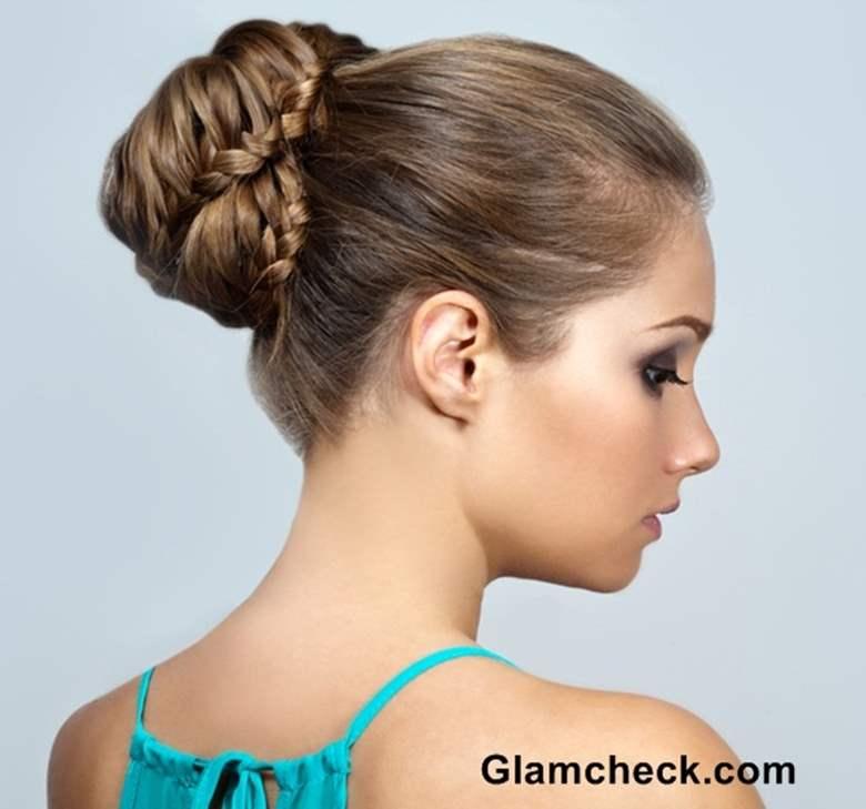 braid hairstyle bun